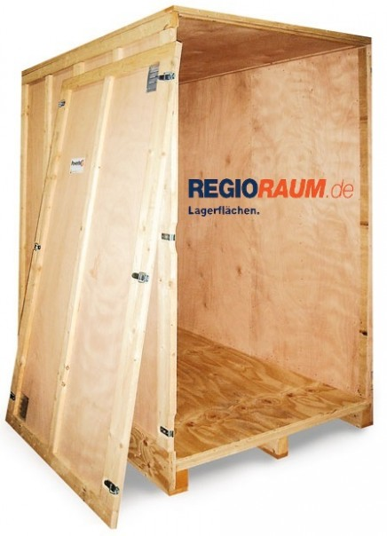 Geschäftskunden Holzcontainer